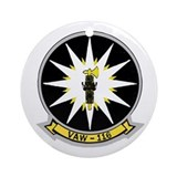 VAW 116 Sun Kings Ornament (Round)