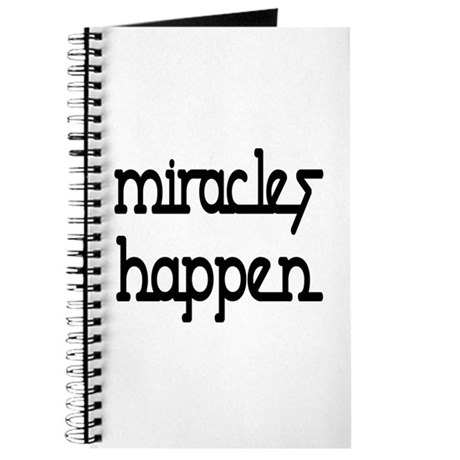 Miracles Happen Journal