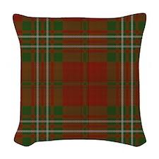 Scott Tartan Woven Throw Pillow