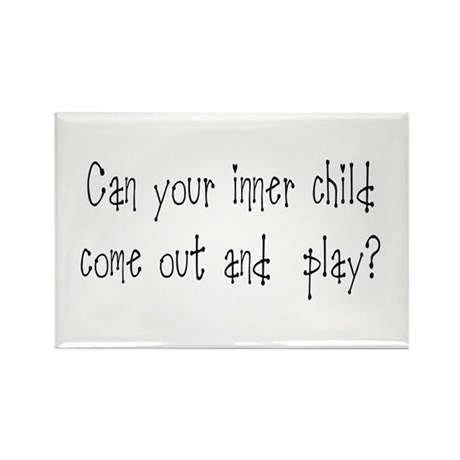Inner Child Rectangle Magnet (100 pack)