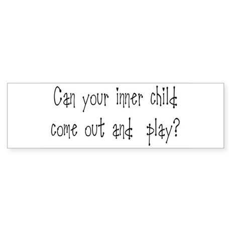 Inner Child Bumper Sticker