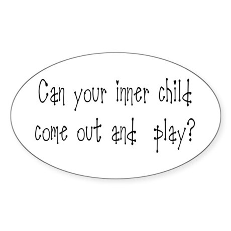 Inner Child Oval Sticker