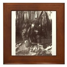 1919 Trapper Framed Tile