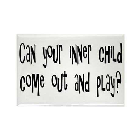 Play Rectangle Magnet (100 pack)