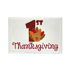 1st Thanksgiving Magnets
