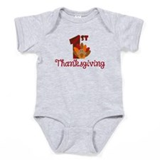 1st Thanksgiving Baby Bodysuit