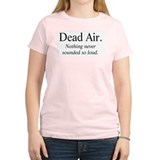 Dead Air Women's Pink T-Shirt