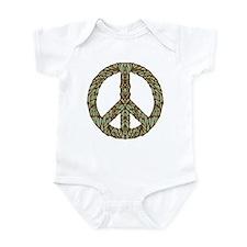 Art Nouveau Peace Sign Infant Bodysuit