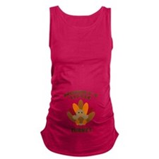 Mommys Little Turkey Maternity Tank Top