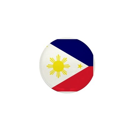 Flag Philippines Mini Button