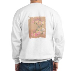 Country Urn Bouquet (OnBack) Sweatshirt
