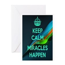 Miracles Greeting Card