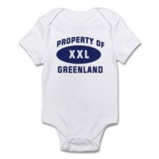 Property of GREENLAND Infant Bodysuit