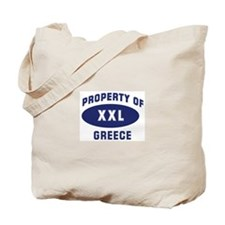 Property of GREECE Tote Bag