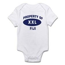 Property of FIJI Onesie