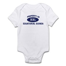 Property of EQUATORIAL GUINEA Infant Bodysuit