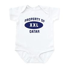 Property of QATAR Infant Bodysuit