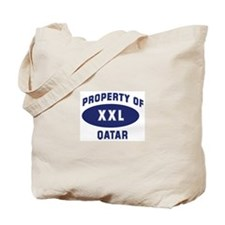 Property of QATAR Tote Bag