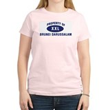 Property of BRUNEI DARUSSALAM Women's Pink T-Shirt