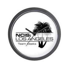 NCISLA Palms Team Deeks Wall Clock