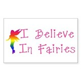 Fairies Rectangle Decal