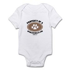 Malti-Pin dog Infant Bodysuit