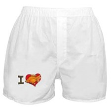 I heart goldfish Boxer Shorts
