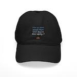 Blind Wipe Black Cap