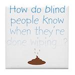 Blind Wipe Tile Coaster