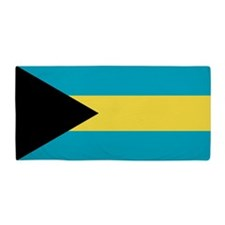 Flag of the Bahamas Beach Towel