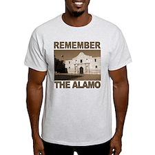 Remember the Alamo<br>Ash Grey T-Shirt