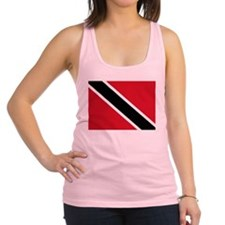 Trinidad and Tobago Flag Racerback Tank Top