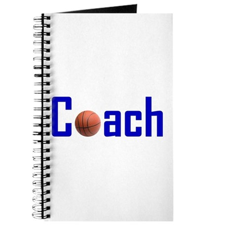 Basketball Coach Blue Journal