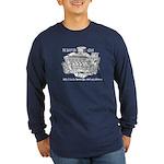 Slant-Six Club Long Sleeve Dark T-Shirt