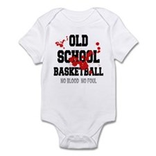 Old School Basketball Infant Bodysuit