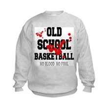Old School Basketball Sweatshirt