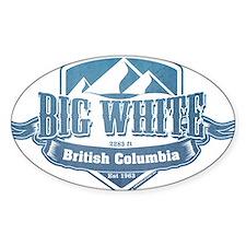 Big White British Columbia Ski Resort 1 Decal