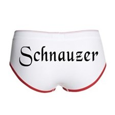 Schnauzer Women's Boy Brief