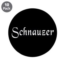"Schnauzer 3.5"" Button (10 pack)"