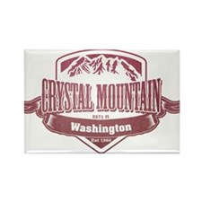 Crystal Mountain Washington Ski Resort 2 Magnets