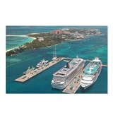 Cruise Ships - Postcards (Package of 8)