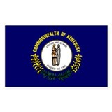 Kentucky Flag sticker