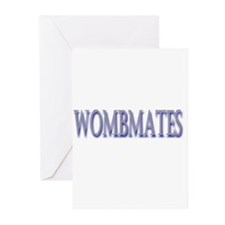 WombMates Greeting Cards (Pk of 10)