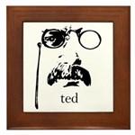 Teddy Roosevelt Framed Tile