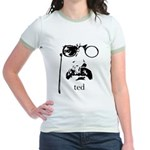 Teddy Roosevelt Jr. Ringer T-Shirt