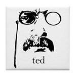 Teddy Roosevelt Tile Coaster