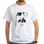 Teddy Roosevelt White T-Shirt