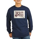 Bible Gun Camp Long Sleeve Dark T-Shirt