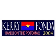 Kerry Fonda 2004 Bumper Bumper Sticker