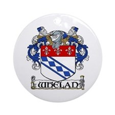 Whelan Coat of Arms Ornament (Round)